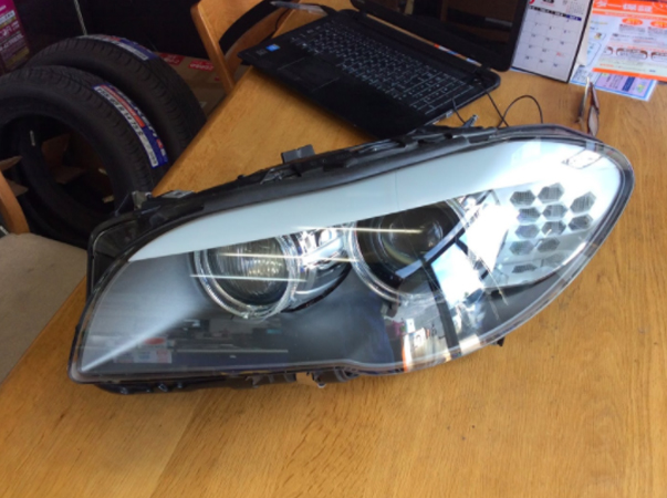 リサイクルヘッドライト